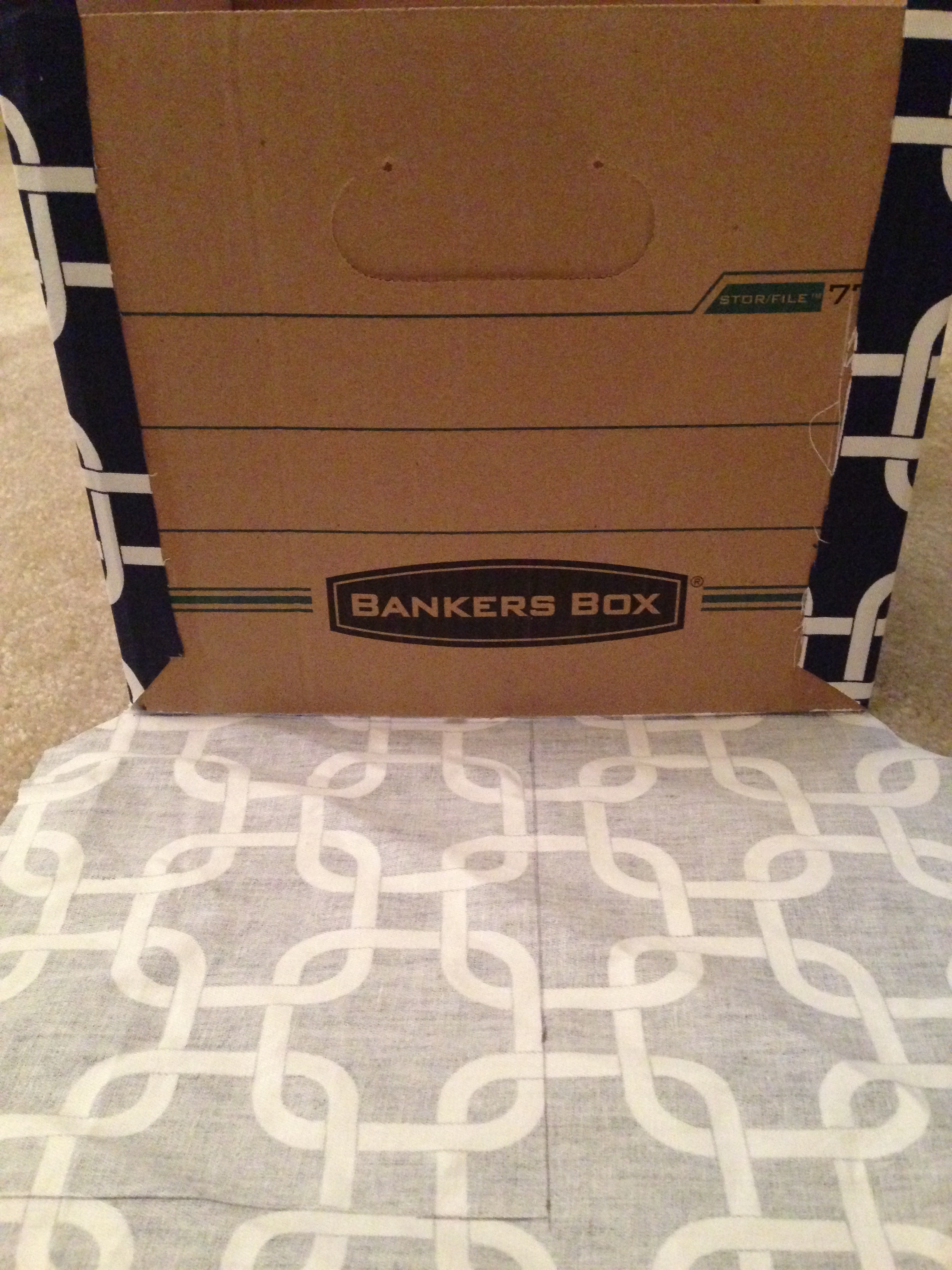 14 & Fabric Covered Storage Boxes | late night crafters