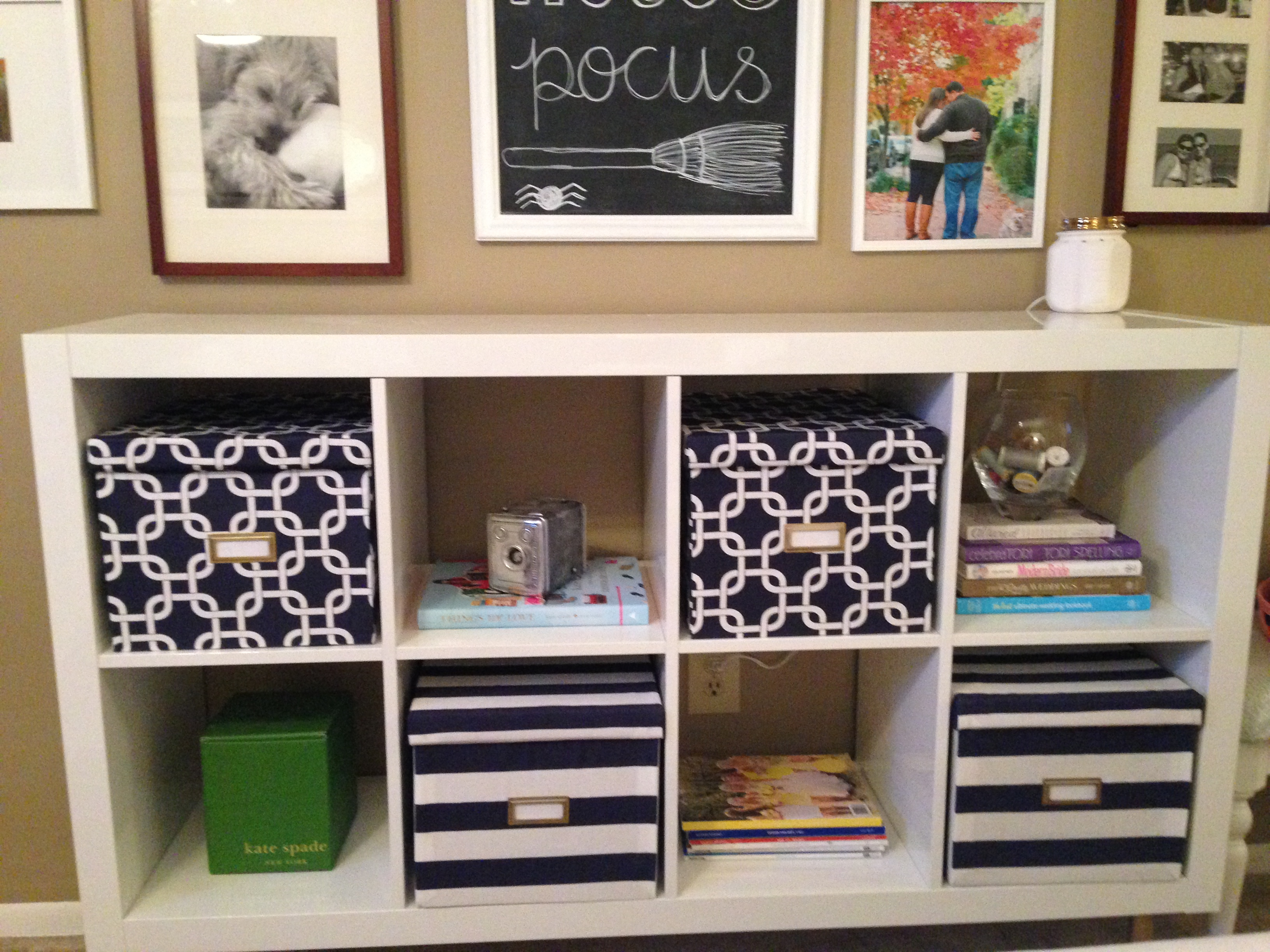 Fabric covered storage boxes late night crafters for Fabric covered boxes craft